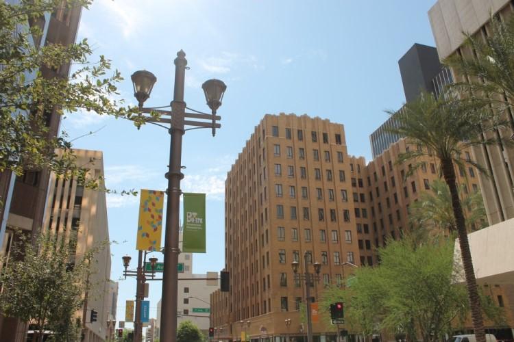 view of downtown Phoenix, Living in Phoenix Arizona