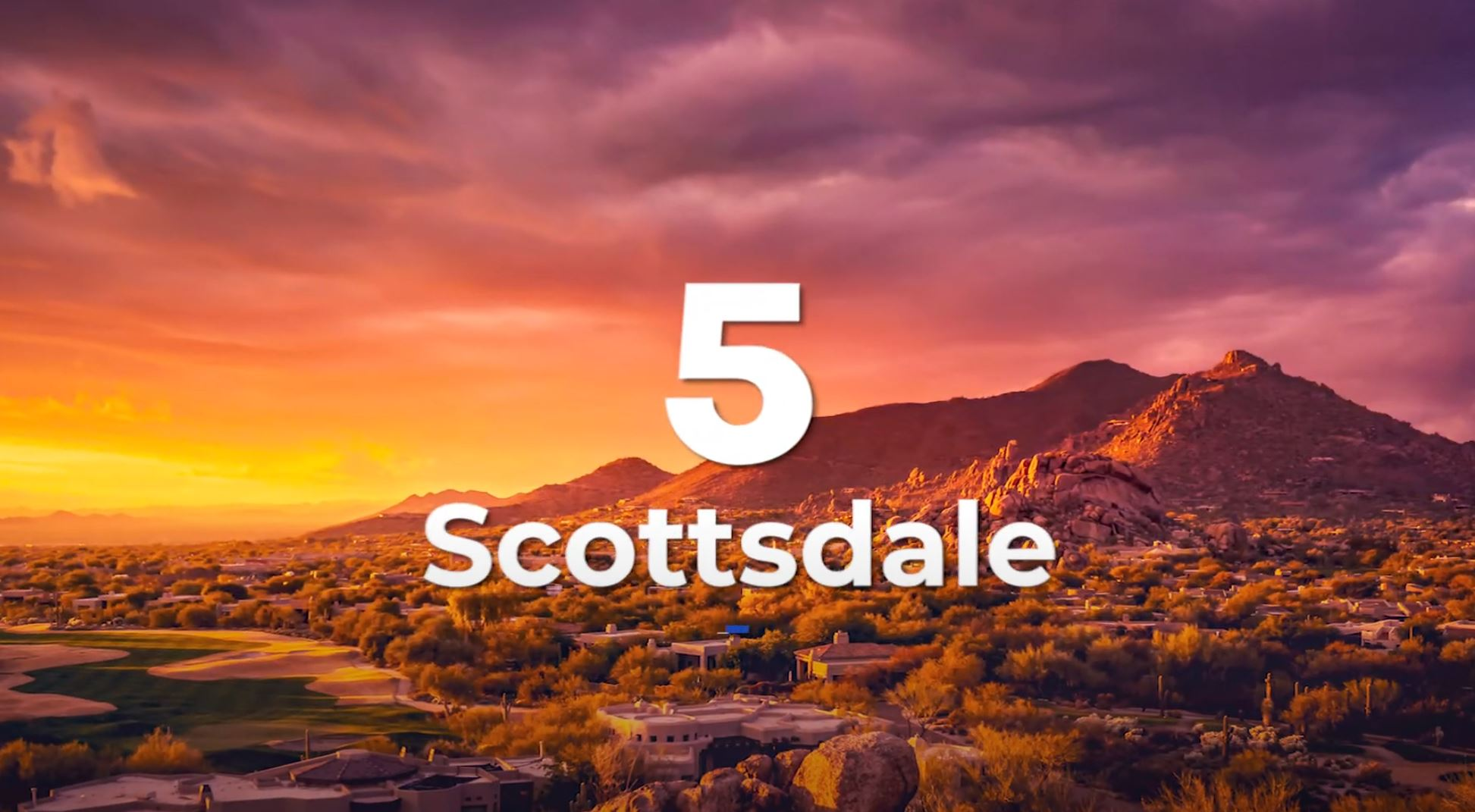 Scottsdale, AZ, Best Places to Live in Arizona, Living in Phoenix real estate