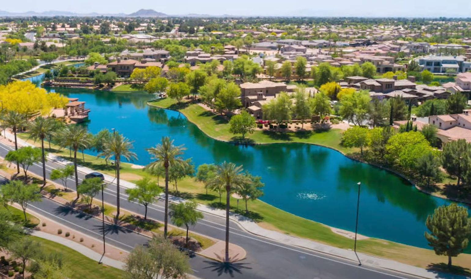 aerial of Chandler, AZ, Best Places to Live in Arizona, Living in Phoenix real estate