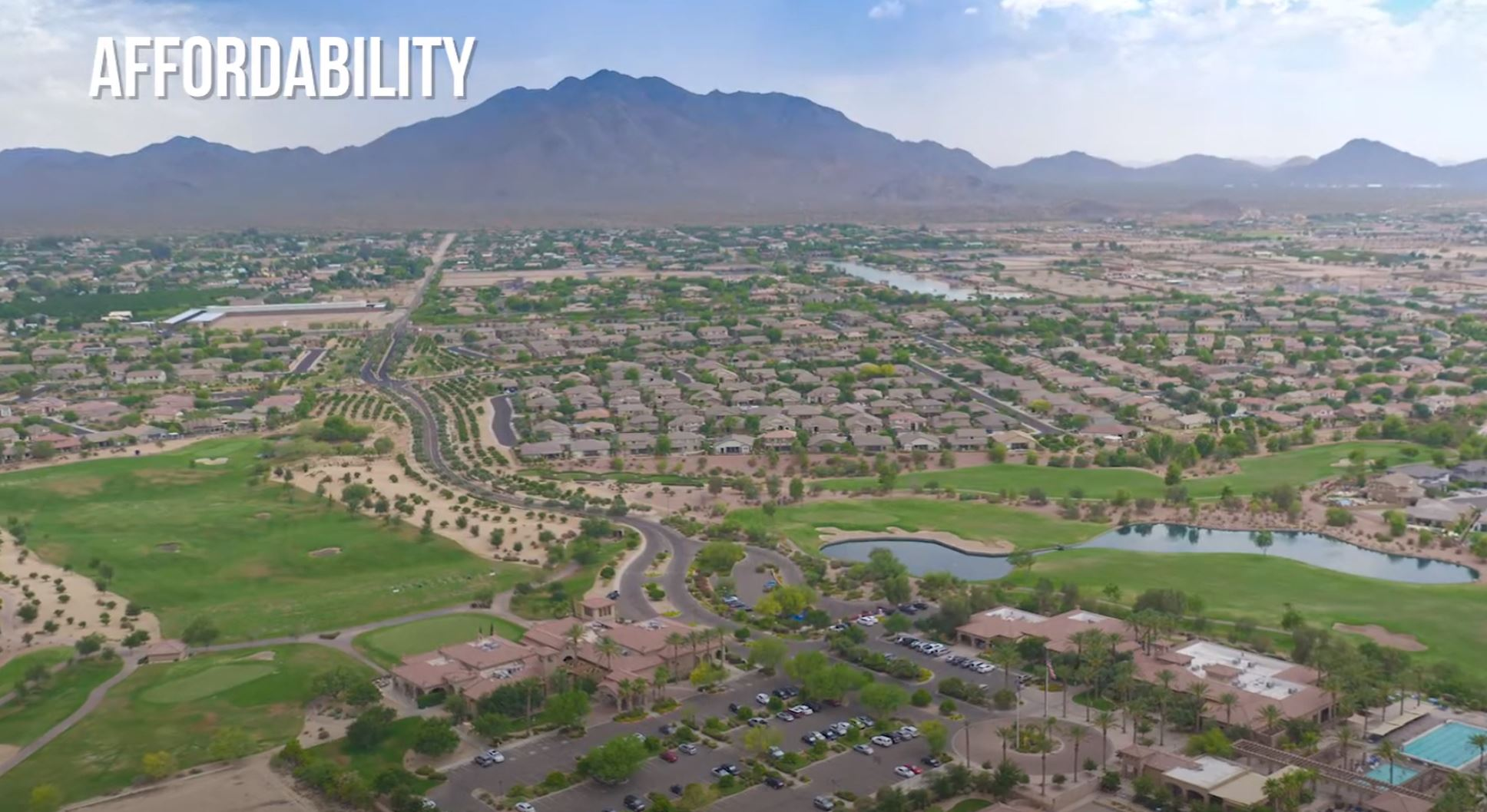 aerial of Gilbert, AZ, Best Places to Live in Arizona, Living in Phoenix real estate