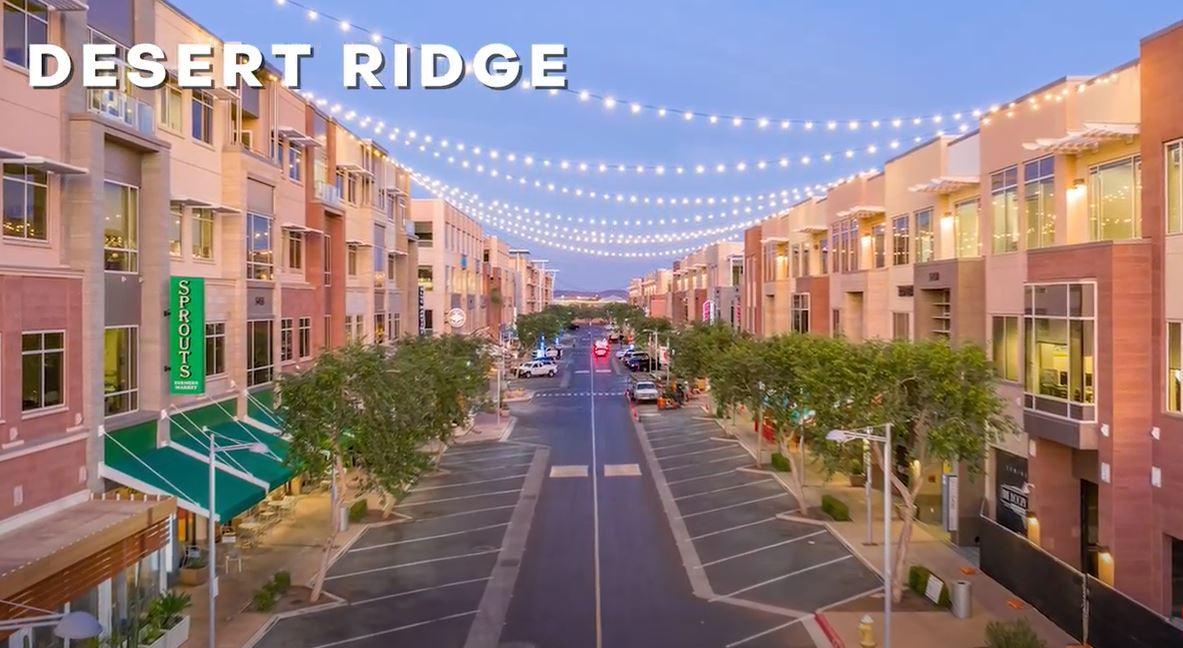 Desert Ridge neighborhood of Phoenix, Best neighborhoods in Phoenix Arizona, Living in Phoenix AZ real estate