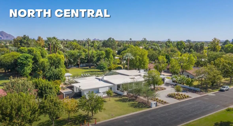 North Central neighborhood of Phoenix, Best neighborhoods in Phoenix Arizona, Living in Phoenix AZ real estate