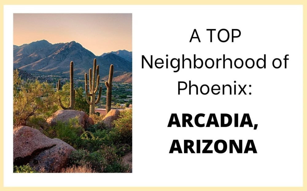 Arcadia Arizona neighborhood of Phoenix