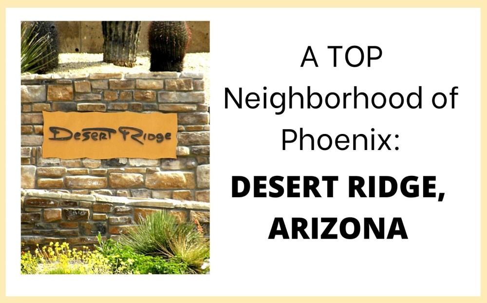 Desert Ridge neighborhood of Phoenix