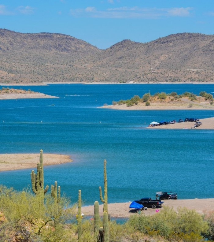 Lake Pleasant in Peoria Arizona
