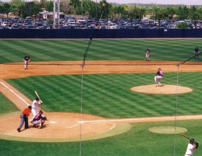 baseball game at spring training, top things to do in Phoenix Arizona.