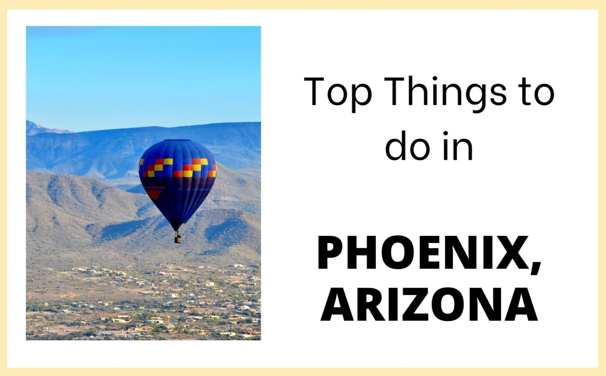 top things to do in Phoenix Arizona. feature img