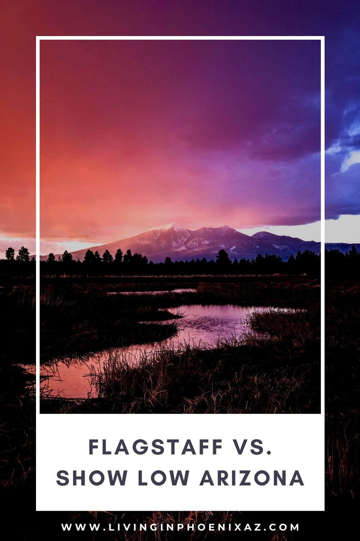 Flagstaff vs Show Low Arizona pins (7)