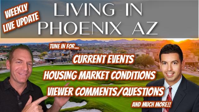 Living in Phoenix Arizona Housing Market Update Live Q&A Generic image