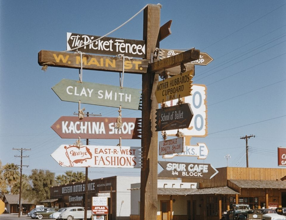 Old Town Scottsdale sign, Where to live in Scottsdale, Arizona 5 Areas in Scottsdale to live in
