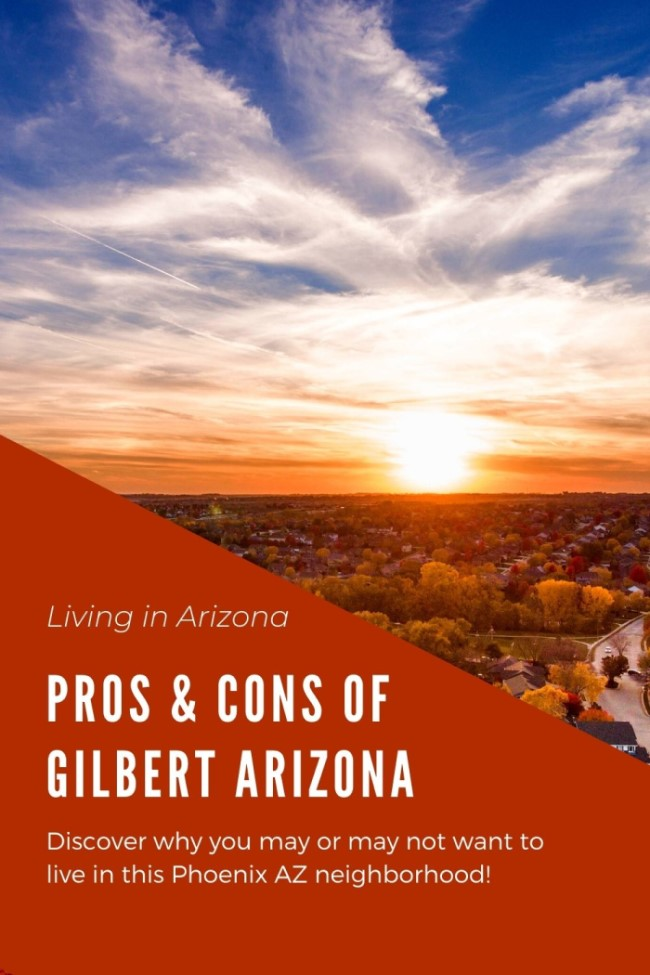Pros and Cons of Living in Gilbert, Arizona (7)