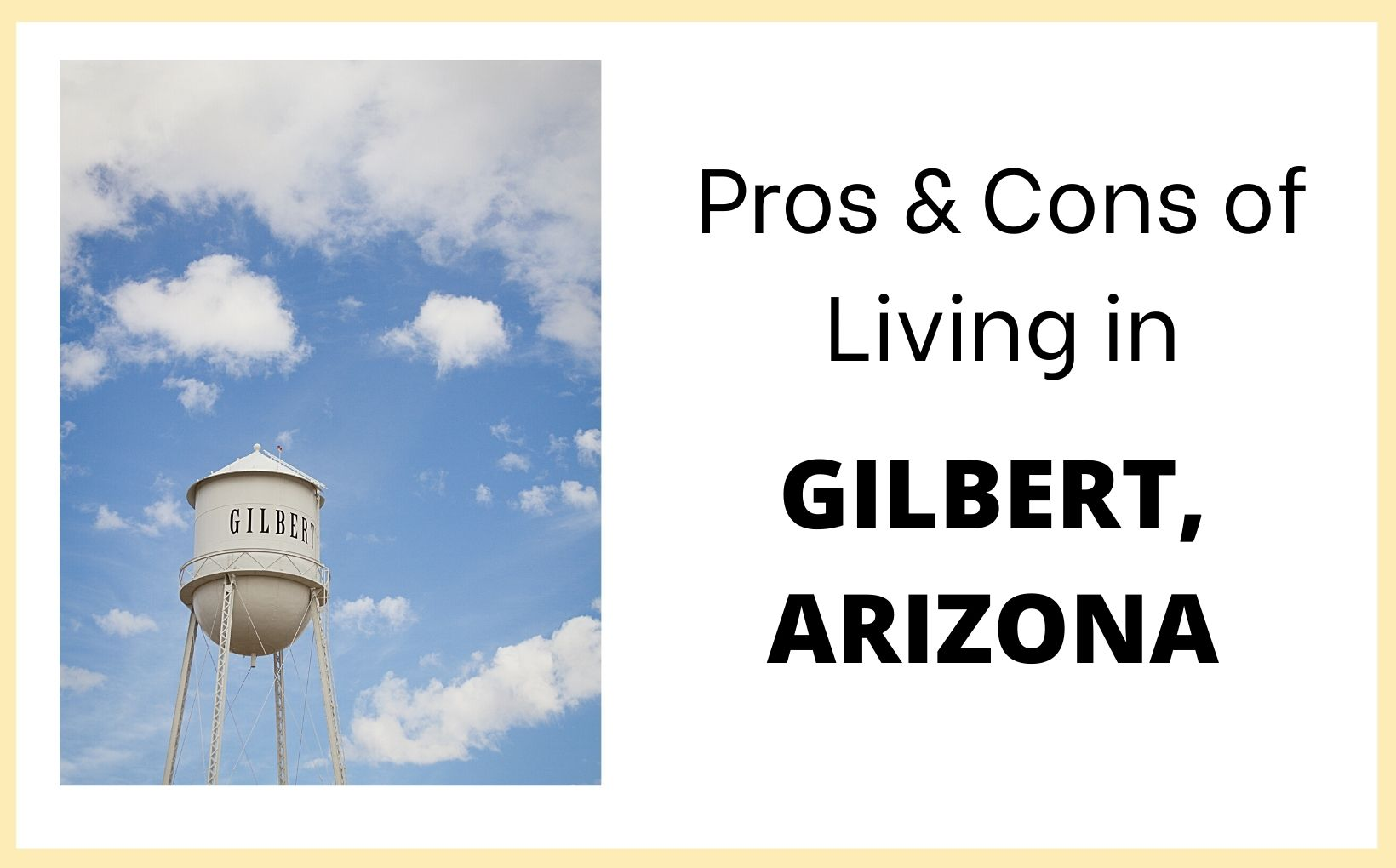 Pros and Cons of Living in Gilbert, Arizona feature image