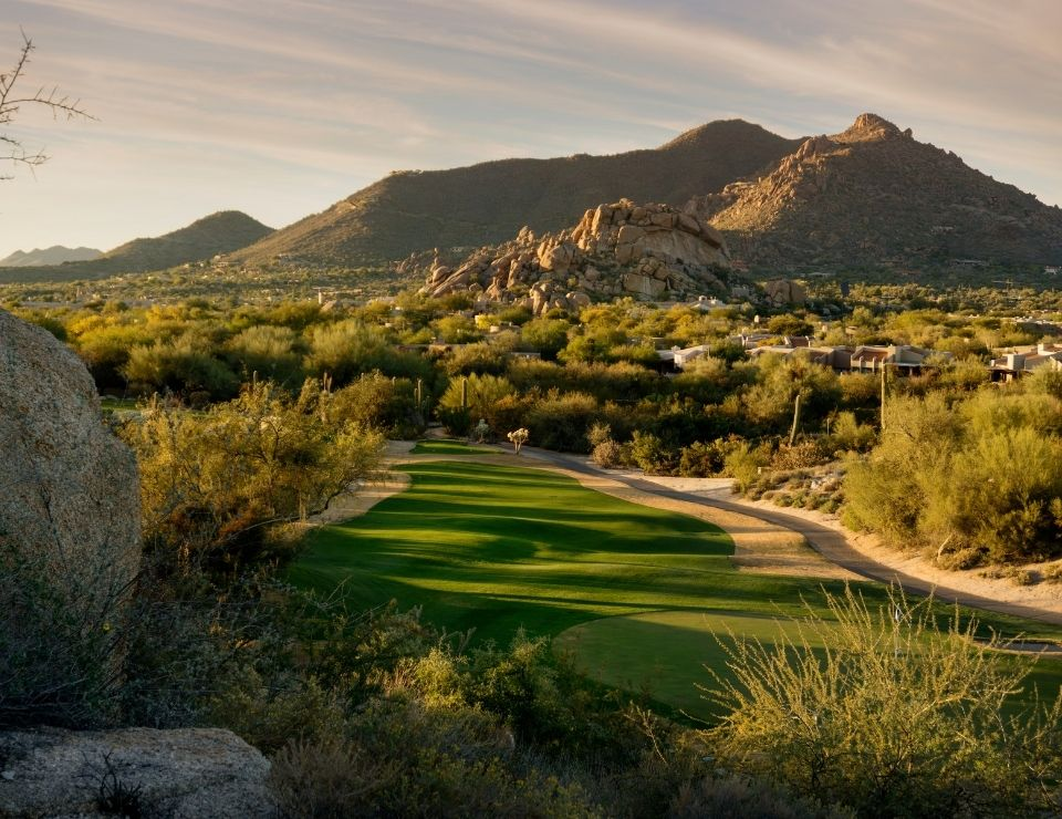 beautiful Phoenix area golf course in Scottsdale, Living Central Scottsdale
