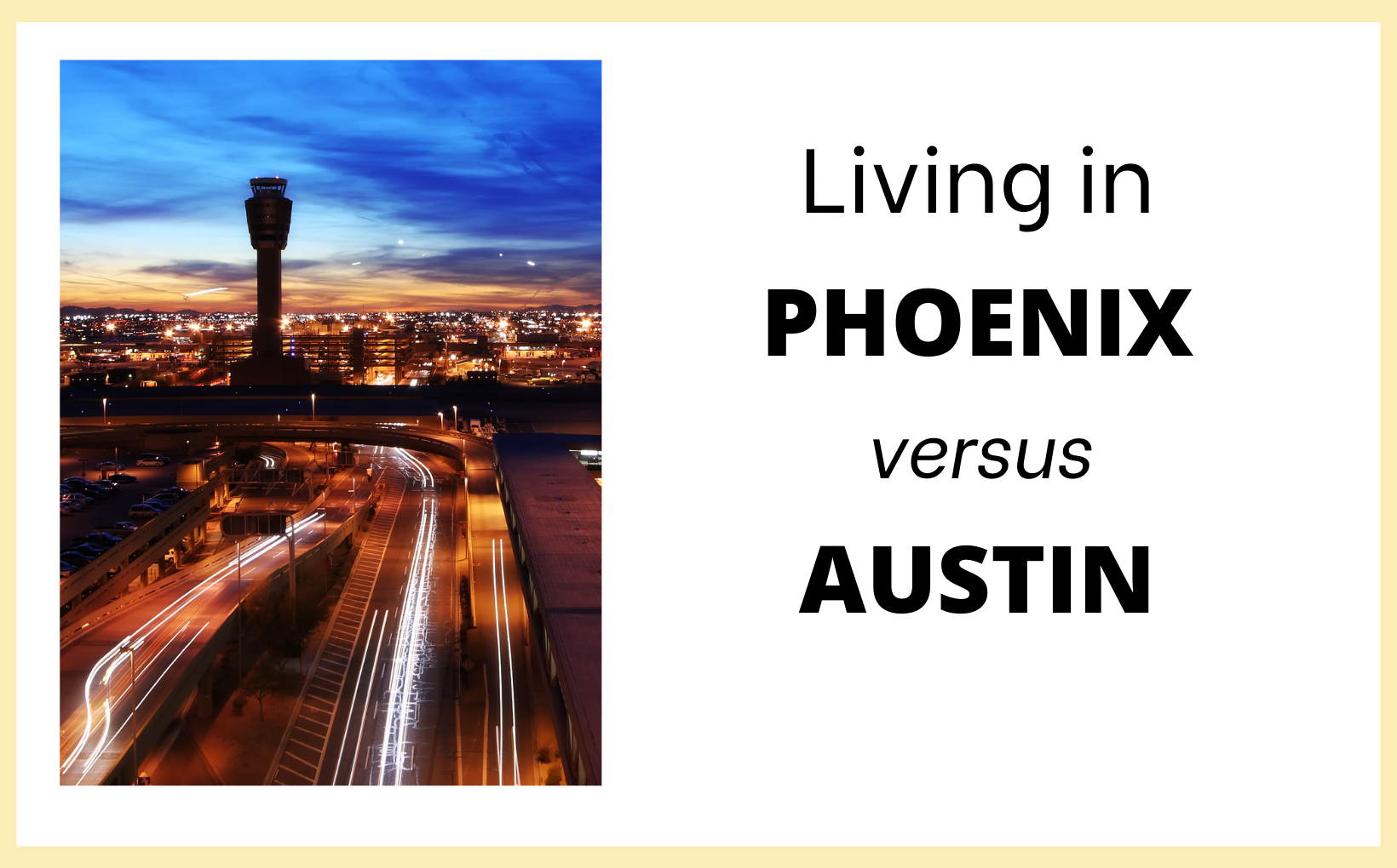 Living in PHX feature image