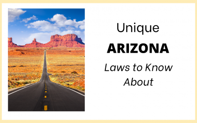 Unique Arizona Laws to Know About
