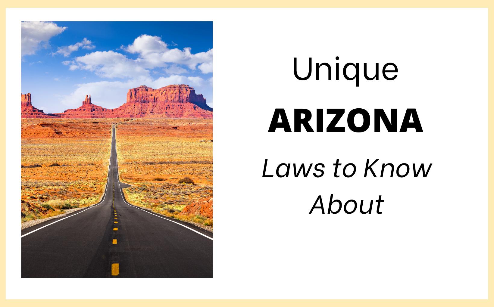 Feature Image Unique AZ Laws
