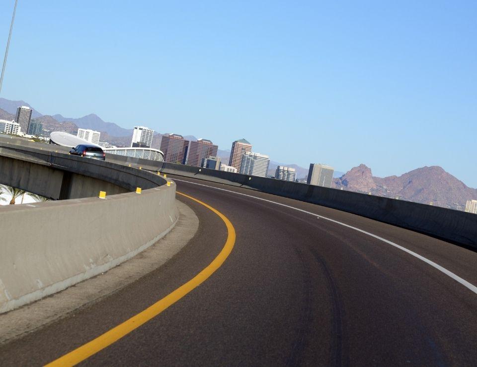 Phoenix AZ highway, Unique Arizona Laws