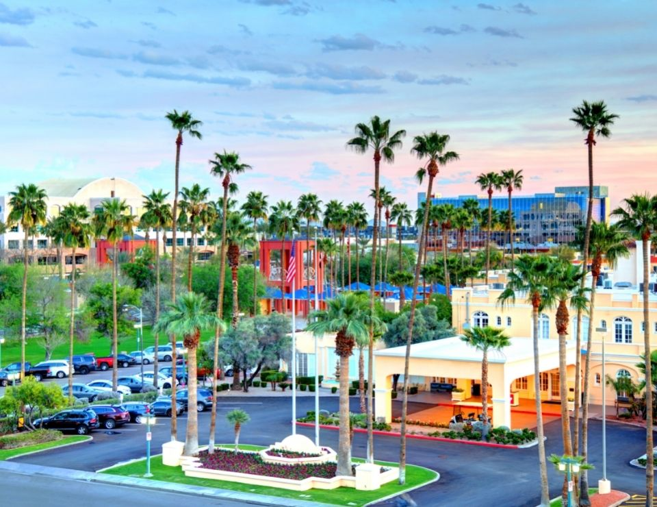 view of Chandler Arizona, where to live in Phoenix